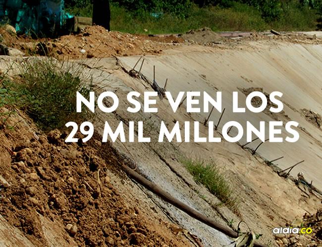 Esta obra hace parte de un contrato de más de 29.600 millones de pesos, se firmó el 6 de agosto de 2014, su construcción empezó a finales del mismo año. | Al Día