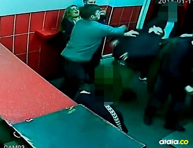 Colin Mclean fue perseguido hasta su hotel por los agresores. |Tomada de: Daily Mail.