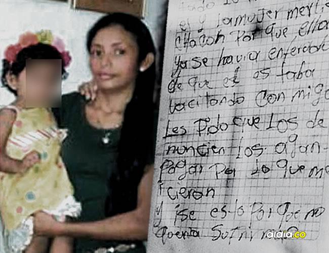 Abril Isabel Vera García, la joven de 22 años y su hija | Al Día