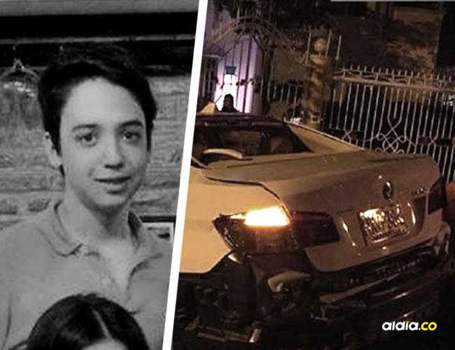 Iván Abuchaibe Sabogal se accidentó el pasado 8 de diciembre, en el barrio Altos de Riomar. | AL DÍA