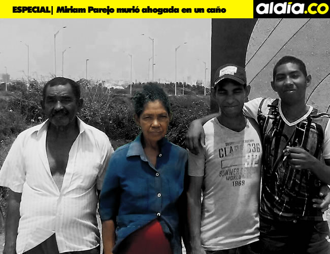 Miriam Parejo De la Hoz siempre lo dio todo por su familia   Foto: Cortesía