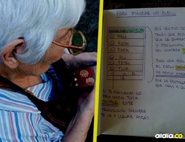 Hizo un tutorial para su abuela de 82 años.