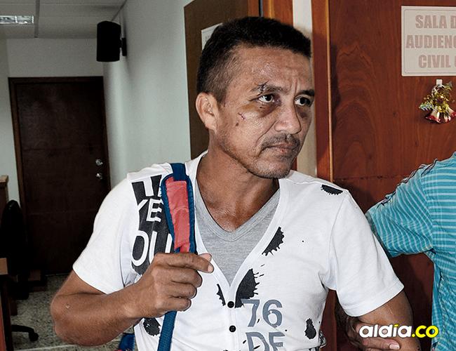Elkis Hernández Ospina fue capturado por el CTI seccional Bosconia, cuando intentaba escapar a otra ciudad. | AL DÍA