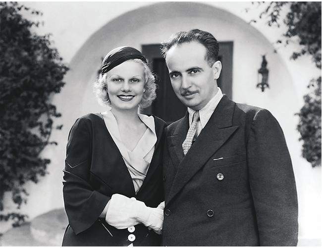 Jean Harlow (izquierda) y Paul Bern (derecha), convivieron 4 años y hoy atemorizan a los visitantes de la mansión | Foto: shutterstock