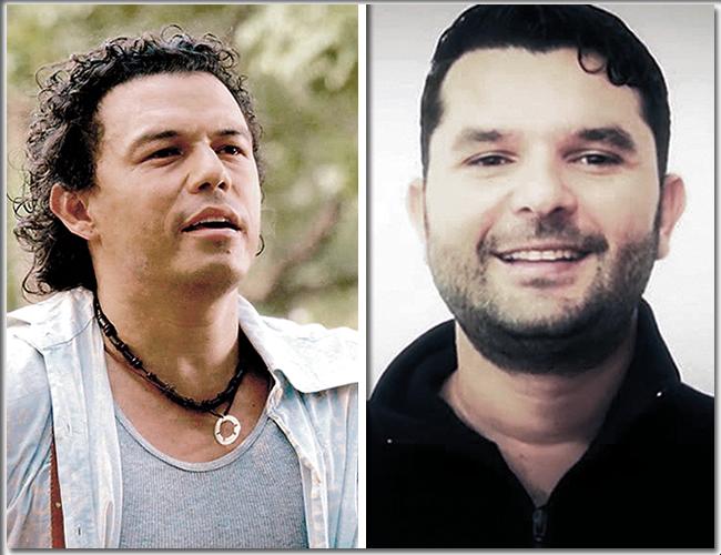 El actor baranoero Rafael Pedroza, quien debutó en la pantalla en 1992, junto al actor Farid Duque, el otro implicado en el hurto. | Foto: Archivo