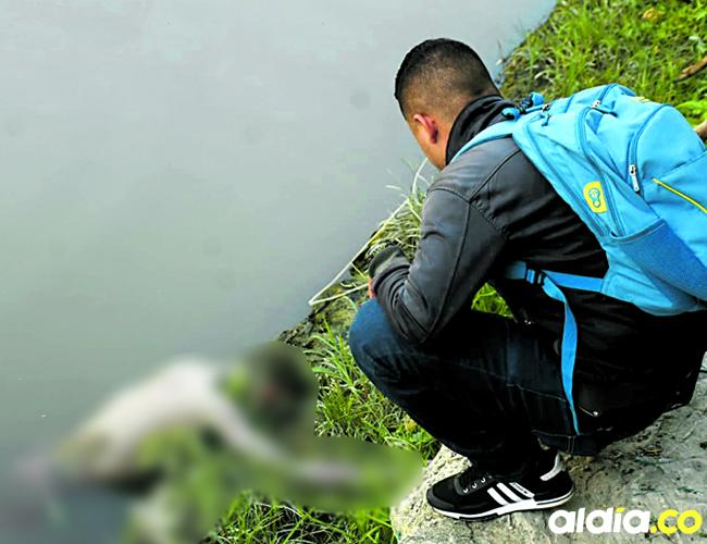 Rafael Sánchez apareció flotando en el Caño de la Ahuyama, sector La Loma   César Bolívar