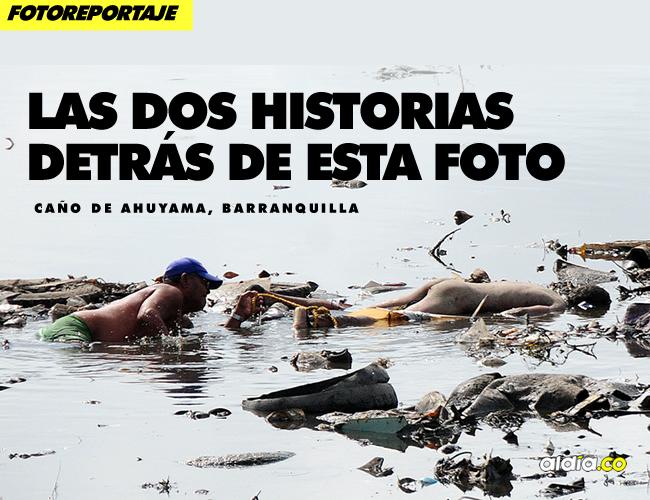 'Manolo' no teme meterse a las aguas pútridas del caño para sacar un cadáver | Johnny Olivares