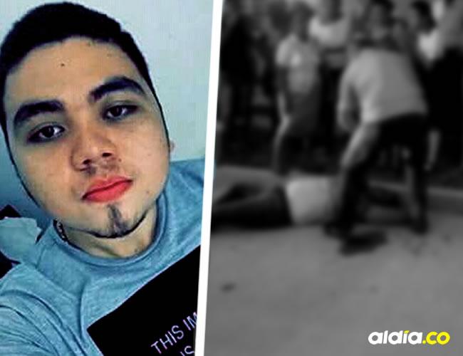 El accidente de Juan Lesmes Palacio ocurrió a las 5:40 a.m. de ayer en el barrio Loma Fresca de Fundación. El joven murió horas después por los golpes | Cortesía