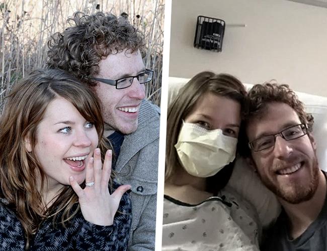 Johanna Watkins está casada con Scott desde hace 3 años, pero solo hace un año le diagnosticaron la enfermedad que la mantiene alejada de todo. | The Sun