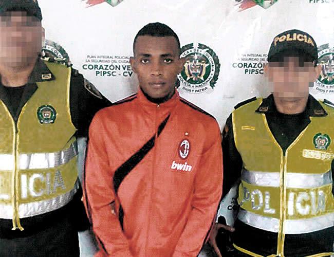 Brayan Andrés Torres deberá responder por múltiples delitos | Foto: Policía Nacional
