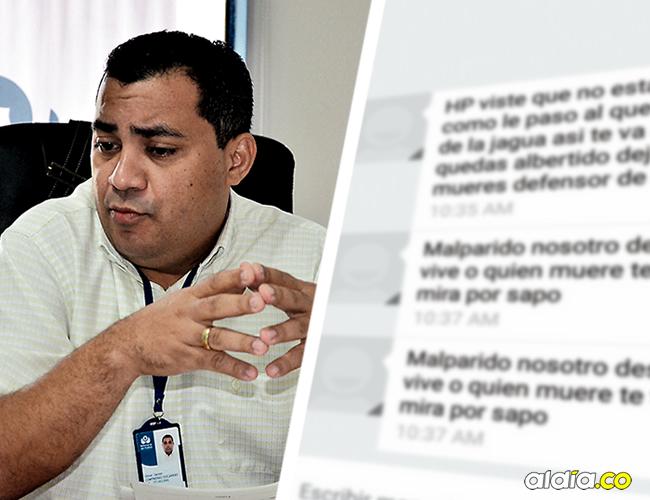Defensor del Pueblo seccional Cesar, Omar Contreras Socarrás. | AL DÍA