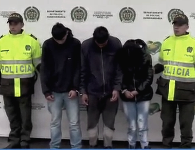 Los capturados deberán responder por los delitos de secuestro y tentativa de homicidio.   Captura