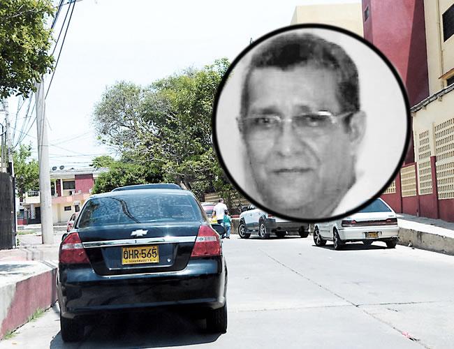 En la calle 61 con carrera 26, barrio Los Andes, a pocas casas de su vivienda, fue asesinado el pensionado Manuel Steel | Foto: Al Día