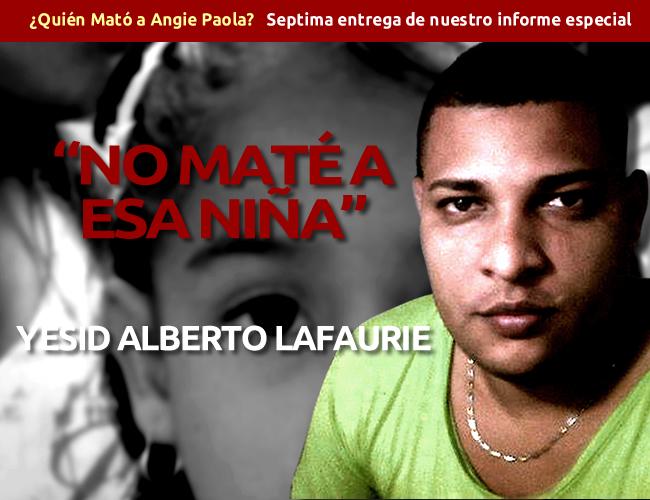 Yesid Lafaurie habla desde la cárcel Modelo y niega estar involucrado en el crimen de Angie Paola | Foto: ALDÍA.CO