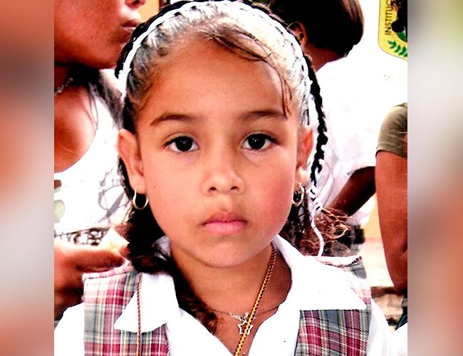 Angie Paola, era estudiante de 4° grado de la Institución Educativa Pedro A. Oñoro, de Baranoa |Foto: Archivo