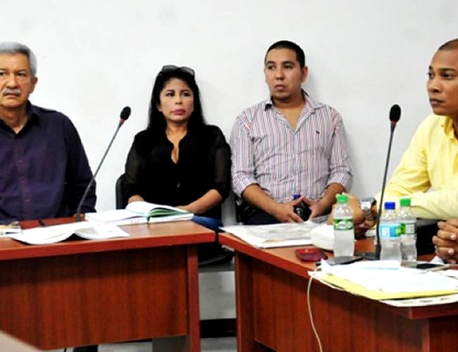 Erika Ordóñez y su yerno David Jinete, acusados. | Foto: Archivo