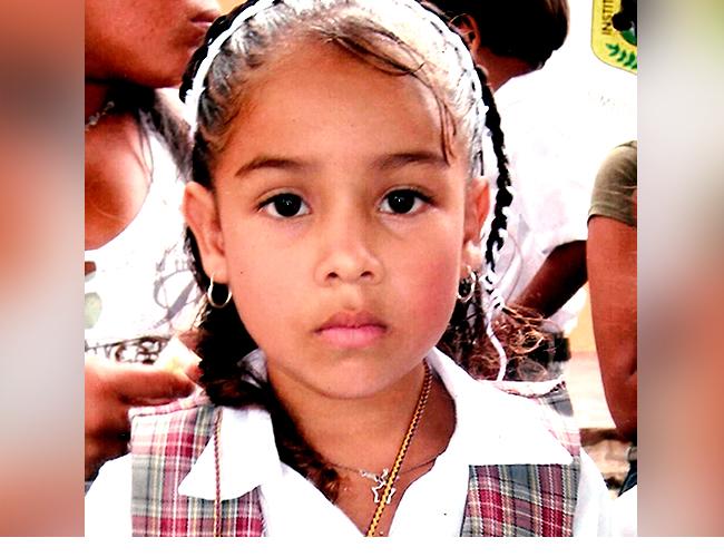 Angie Paola, era estudiante de 4° grado de la Institución Educativa Pedro A. Oñoro, de Baranoa  Foto: Archivo