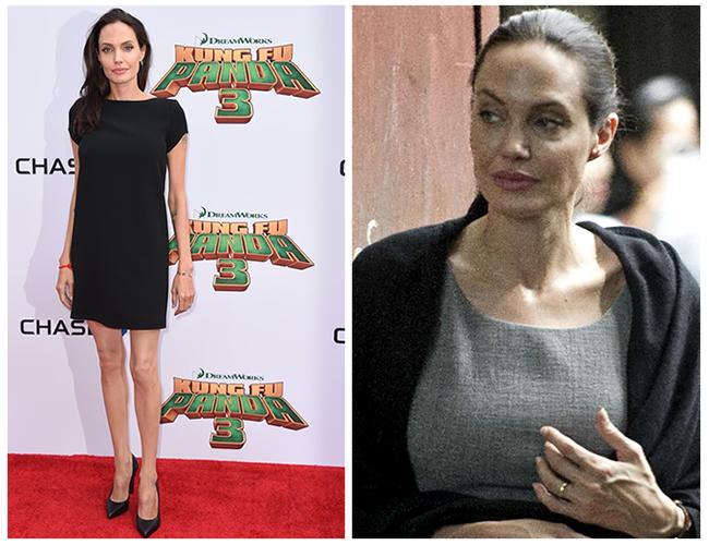 La actriz habría perdido 35 kilos debido a que sufre de cáncer, anorexia y paranoia. | Foto: t13.cl