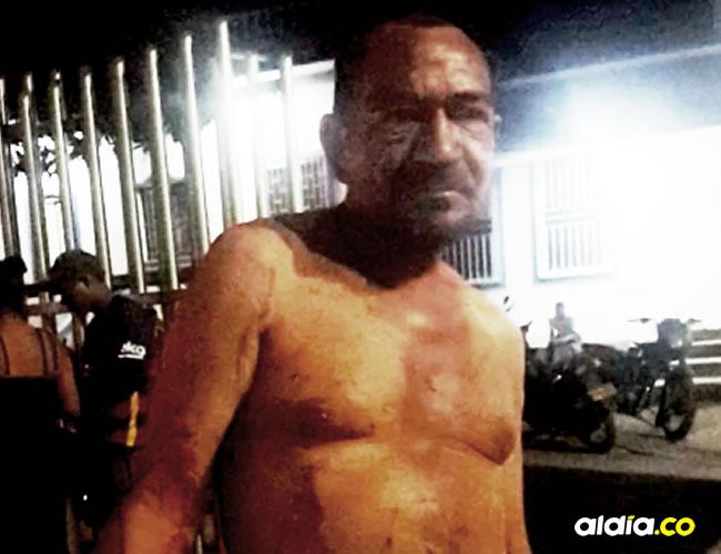 Jairo Romero, persona apuñalada antes de ser trasladado a un hospital | Cortesía
