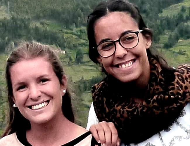 Marina Menegazzo y María José Coni siempre viajaban juntas por latinoamérica, su último destino fue Montañita en Ecuador | Foto:Nuevamujer