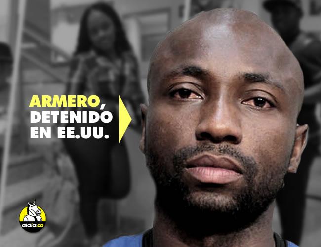 El lateral colombiano Pablo Armero fue acusado en Miami por agresión a su pareja, a quien habría goleado y cortado el pelo. | NBC/Instagram