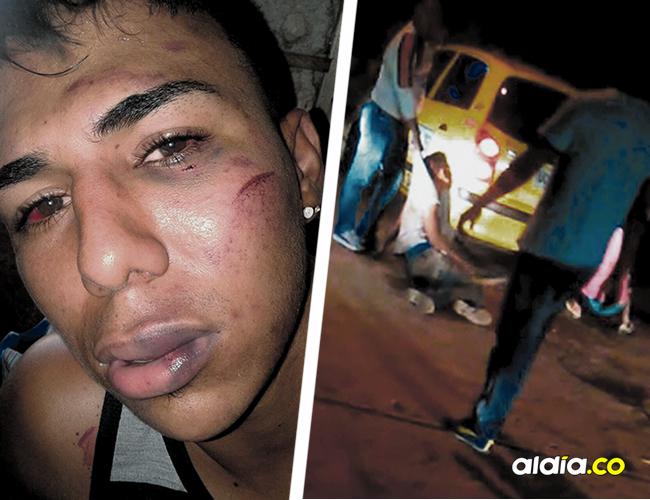 El video que obtuvo AL DÍA se ve como los taxistas golpean y torturan al joven Bryan Jinette en el barrio María Eugenia de Santa Marta. | AL DÍA