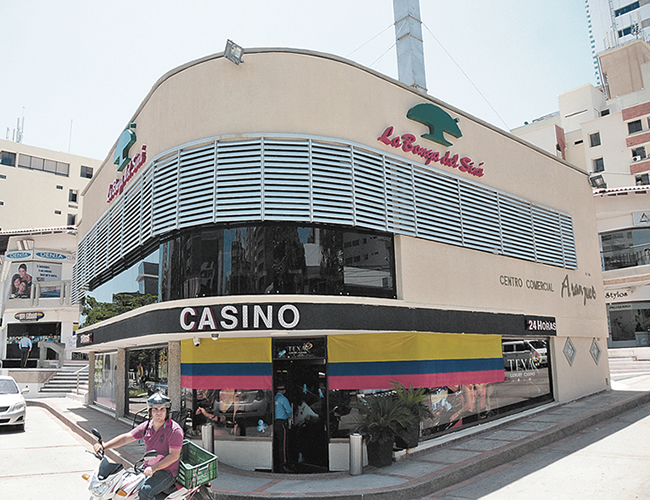 Casino Texas Luxury, asaltado el jueves por delincuentes. | Foto: AL DÍA