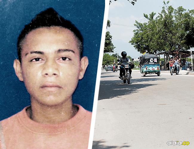 En la carrera 7 con calle 37, barrio Manuela Beltrán,  fue golpeado José Luis Flórez, quien falleció ayer. | AL DÍA