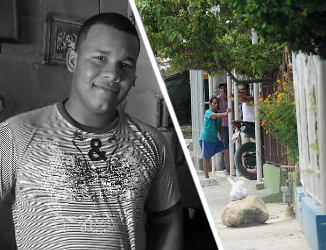 Carlos Andrés Alcázar Martínez, de 22 años, asesinado cerca a su casa en el barrio El Romance | Al Día