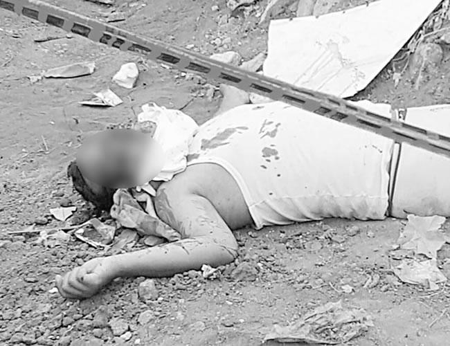 Anderson de Jesús Garizábalo Osorio fue asesinado de un disparo en la cabeza. | Foto: Al día