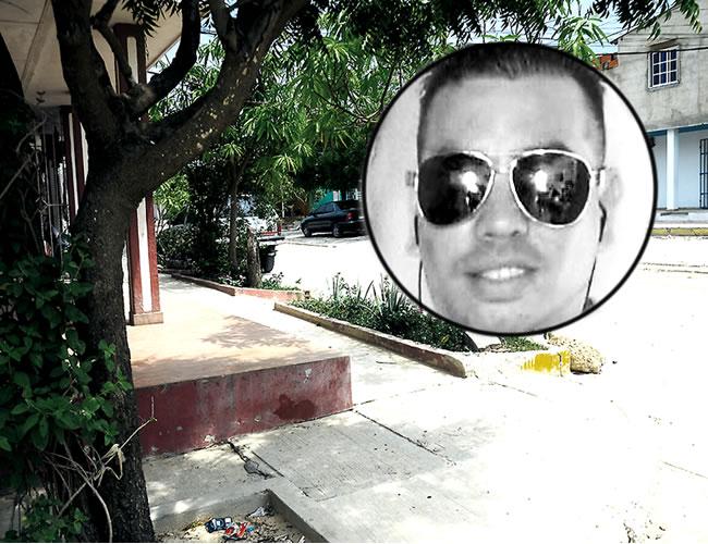 En este sector de la calle 84 con carrera 14, barrio Los Almendros, de Soledad, ocurrió el asesinato del comerciante | Foto : Al Día