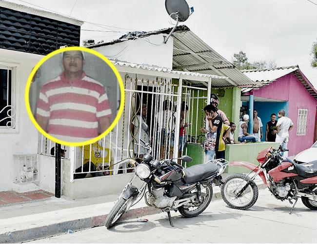 En un apartamento ubicado en la calle 61 con carrera 9K, sector Taconazos, barrio El Bosque, asesinaron al comerciante Enrique Bujato Mora. | Foto: Al Día