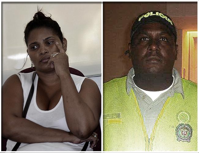 Josefa Cardona Ortega y Andrés Díaz coautores de los delitos de desaparición forzada agravada, homicidio agravado y secuestro simple agravado. | Foto: Archivo