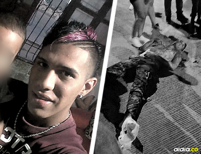 Me Samuel Enrique Sierra Salazar, de 21 años, asesinado en una riña ocurrida la madrugada del lunes.   AL DÍA