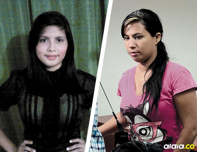 Grey Esther Acosta Pérez, de 29 años,  se entregó a la Policía por el asesinato de Greisly Reyes González. | AL DÍA