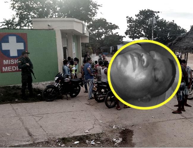 La muerte de Altamar se produjo cuando lo trasladaban hacia el hospital local de Magangué | Foto: Al Día