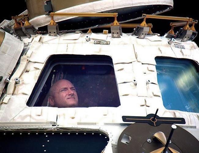Con esta fotografía el astronauta culminó su misión. | Foto: Instagram