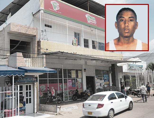 Ómar Andrés Cervantes Muñoz, alias 'Drupy', intentó atracar el supermercado situado en la carrera 5F con calle 76. | Foto: Archivo