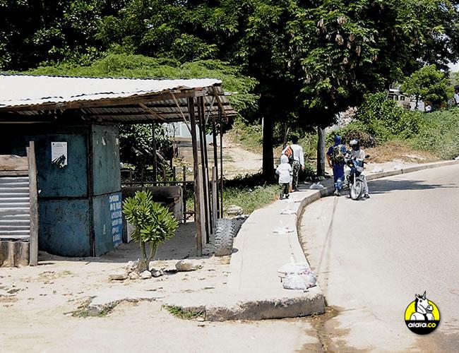 A Villalobos Manjarrez lo balearon en este lugar: carrera 27A con calle 83, límites entre El Edén y Me Quejo. | ALDIA.CO