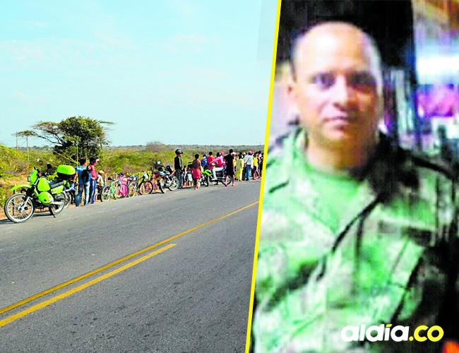 El comerciante y pensionado del Ejército, Rubén Darío Ruidíaz Guerra, de 43 años, de Guamal, Magdalena, fue asesinado   Foto AlDía