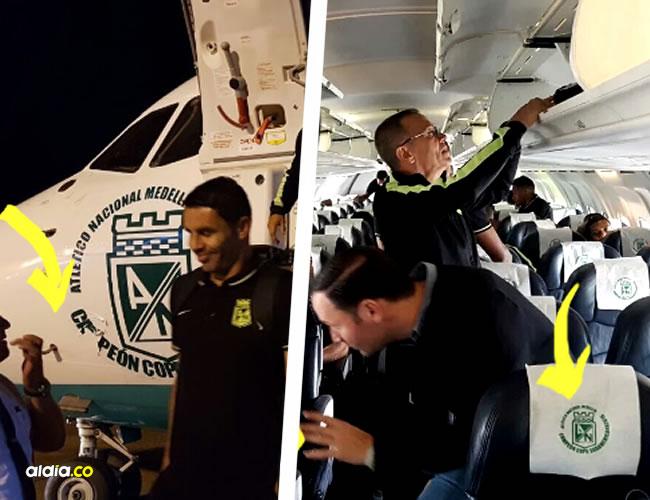 Altético Nacional disputa la serie semifinal de Copa Sudamericana contra Cerro Porteño de Paraguay. El club llegó a Asunción a través de un vuelo privado | Al Día
