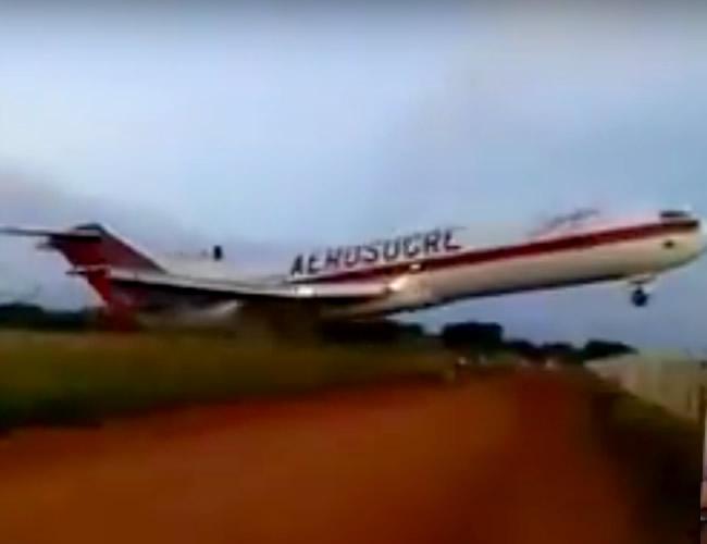 Entre los fallecidos está el capitán del avión, el copiloto, el ingeniero de vuelo, el despachador y un operario de montacarga.