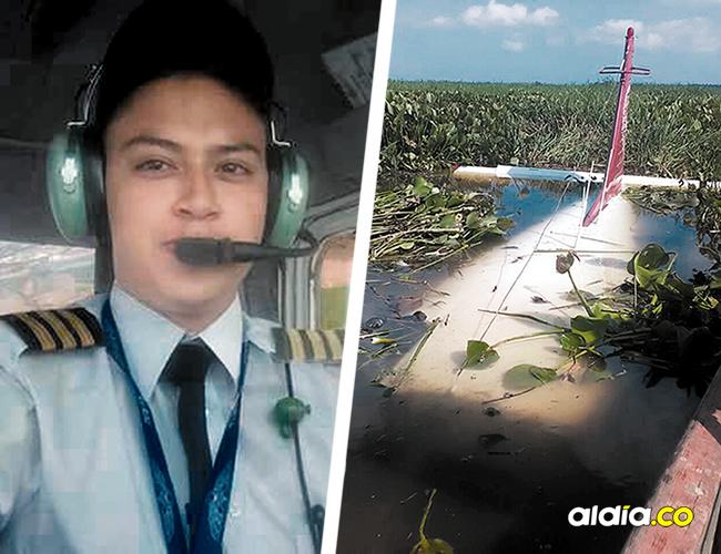José Manuel Montenegro tuvo que salir de la avioneta y ubicarse en la cola de la aeronave, donde fue rescatado por unos pescadores de la zona. | AL DÍA