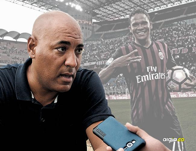 Barila, mientras entregaba declaraciones acerca del presente de Carlos Bacca en el Milan de Italia. | Al Día