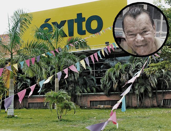 El almacén Éxito Metropolitano donde ocurrió la trágica muerte de Jaime Ardila Meneses. | Foto: Archivo