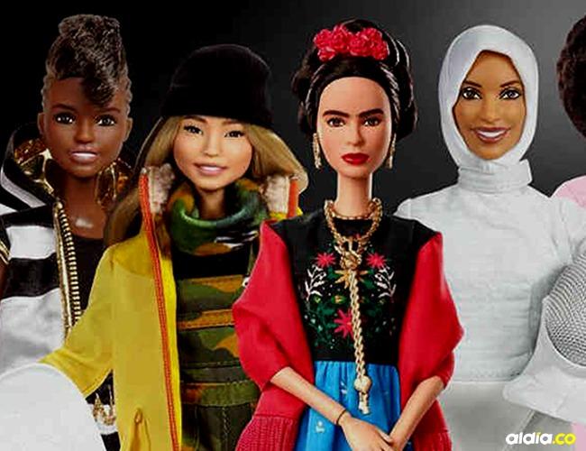 Mattel lanzará 17 muñecas en conmemoración al Día Internacional de la Mujer. |Tomada de: Mattel.