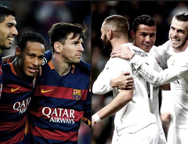 MSN vs BBC es el duelo que todos los que man en fútbol esperan para ver en el año | Foto: