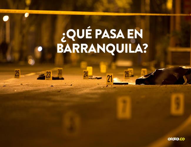 En enero de 2016 se cometieron 27 homicidios solo en Barranquilla. Este año van 17, a falta de 24 días para que culmine el mes.   Al Día