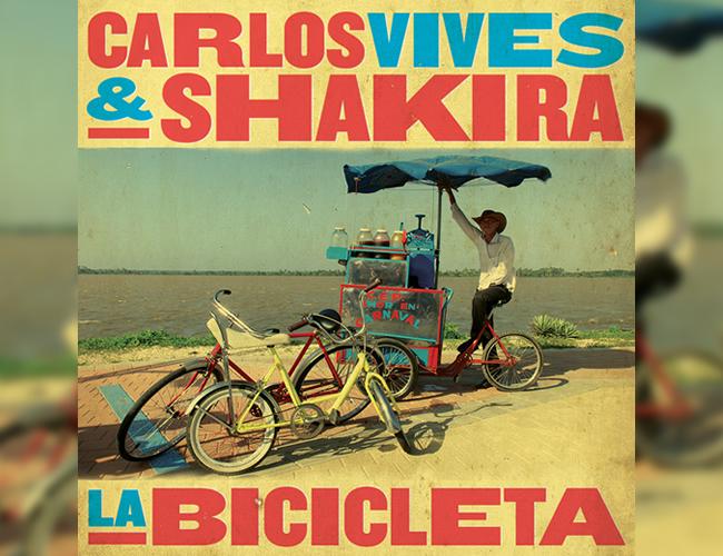 Esta es la tapa del sencillo. El rodaje de 'La bicicleta' se llevó a cabo en Barranquilla y Santa Marta | Foto: Sony Music
