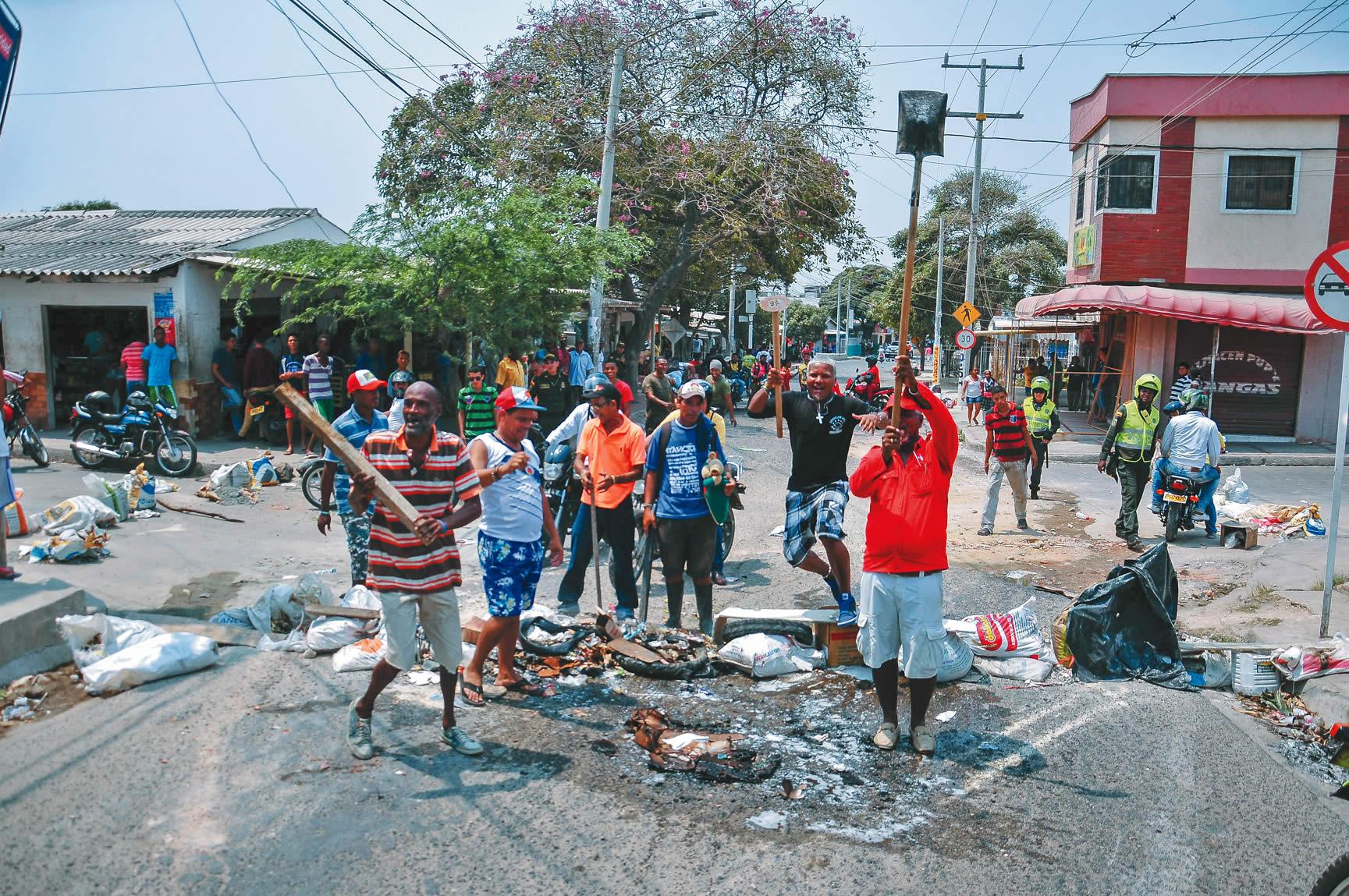 As fueron las protestas por falta de electricidad en 35 for Barrio ciudad jardin barranquilla
